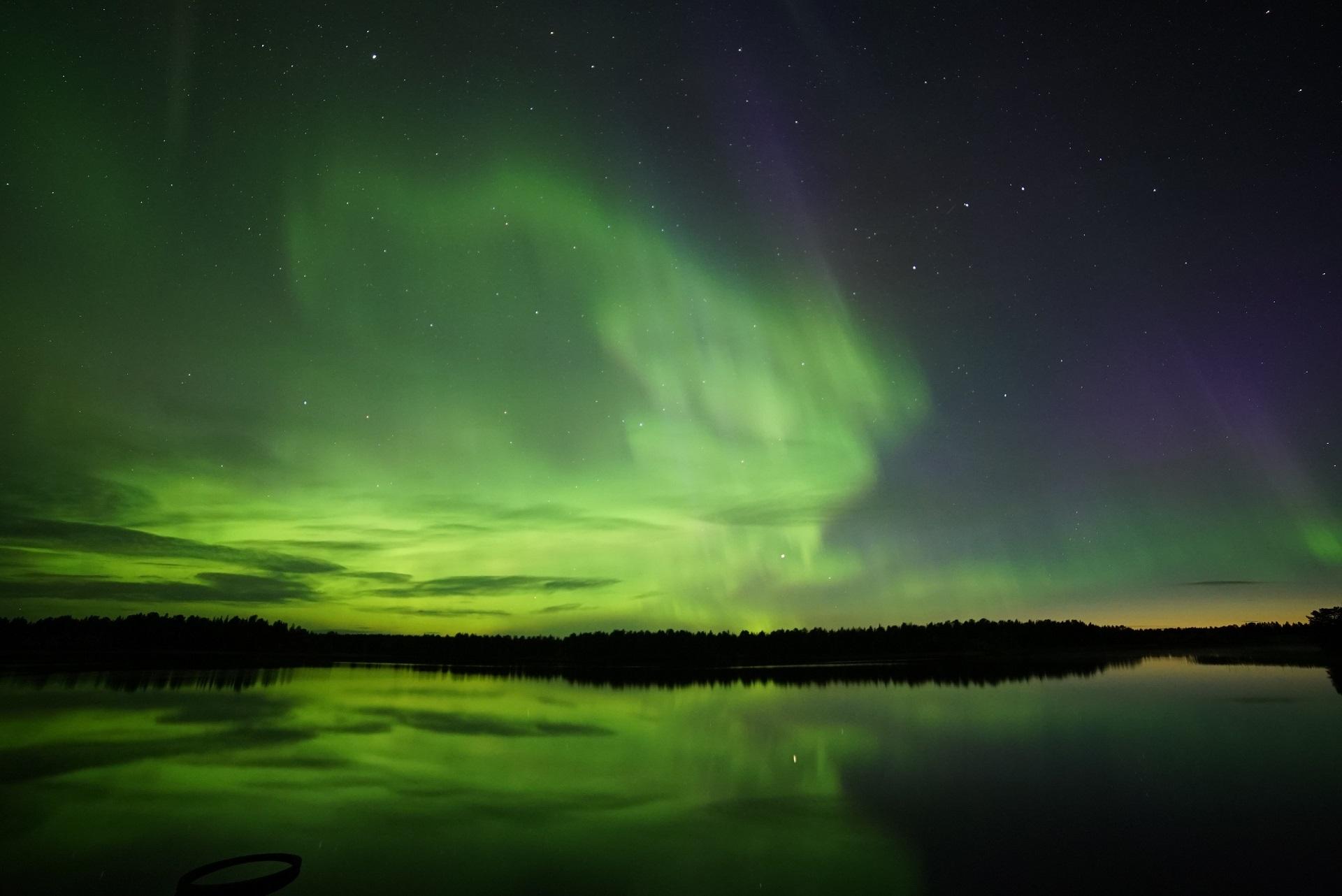 Polarlicht Spektakel
