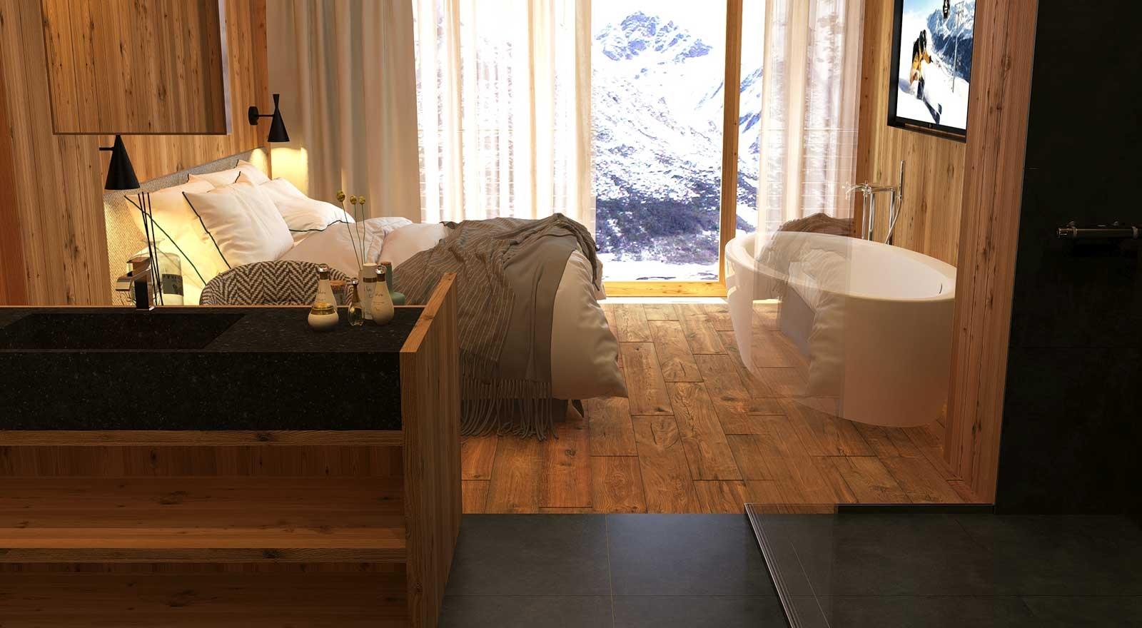 Ginepro: Das neueste Zimmer im Hotel Spö