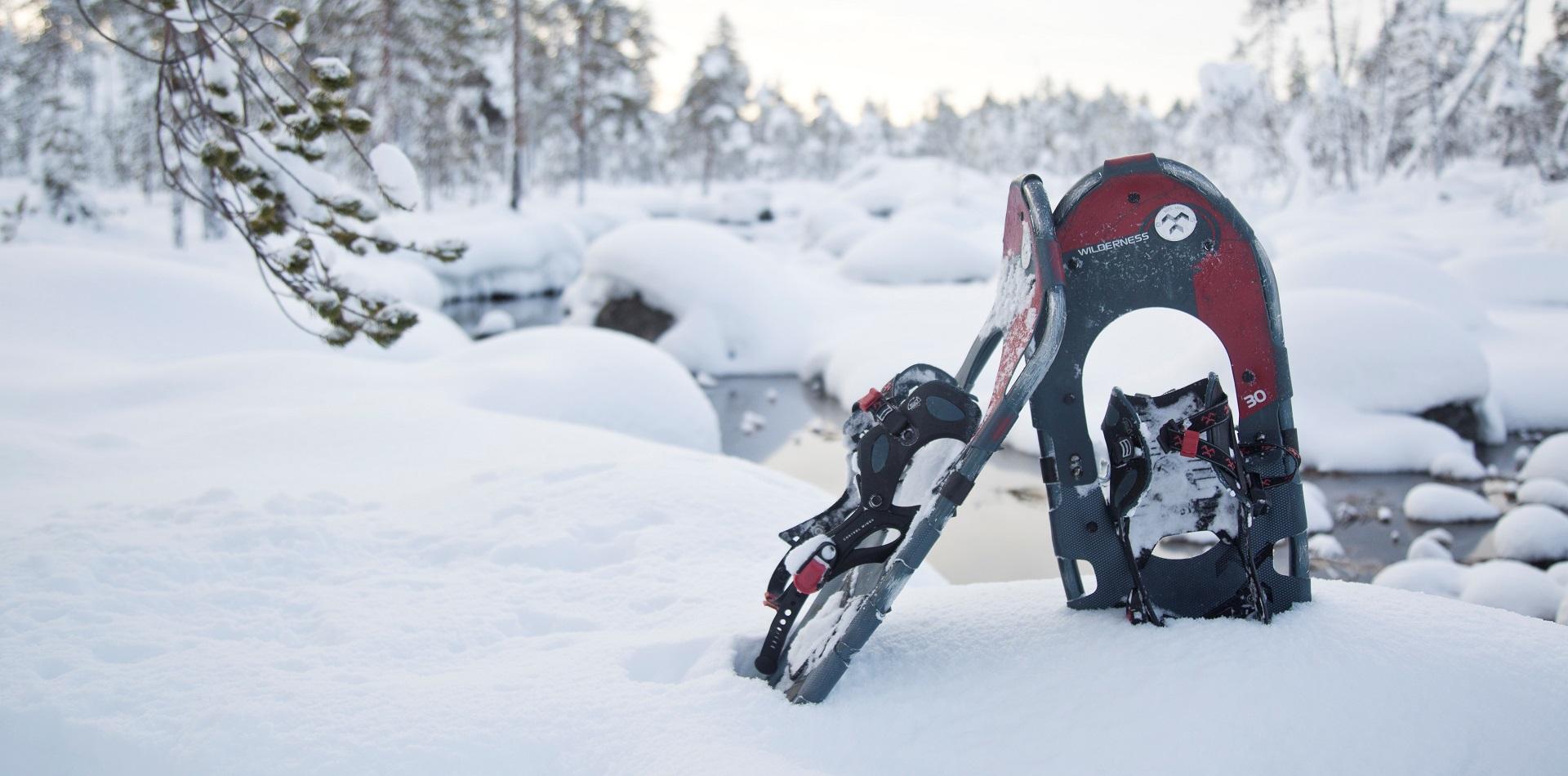 Schneeschuh-Romantik