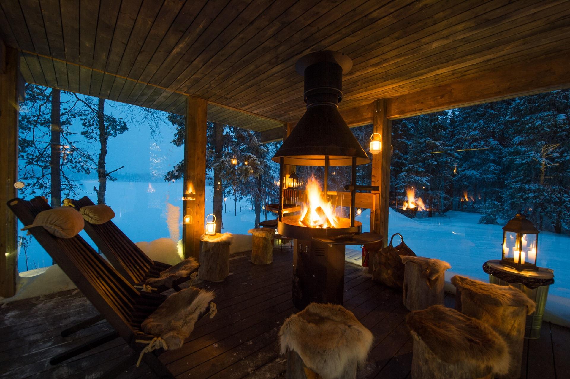 ruka chalets bilder sandozconcept winterreisen weltweit. Black Bedroom Furniture Sets. Home Design Ideas