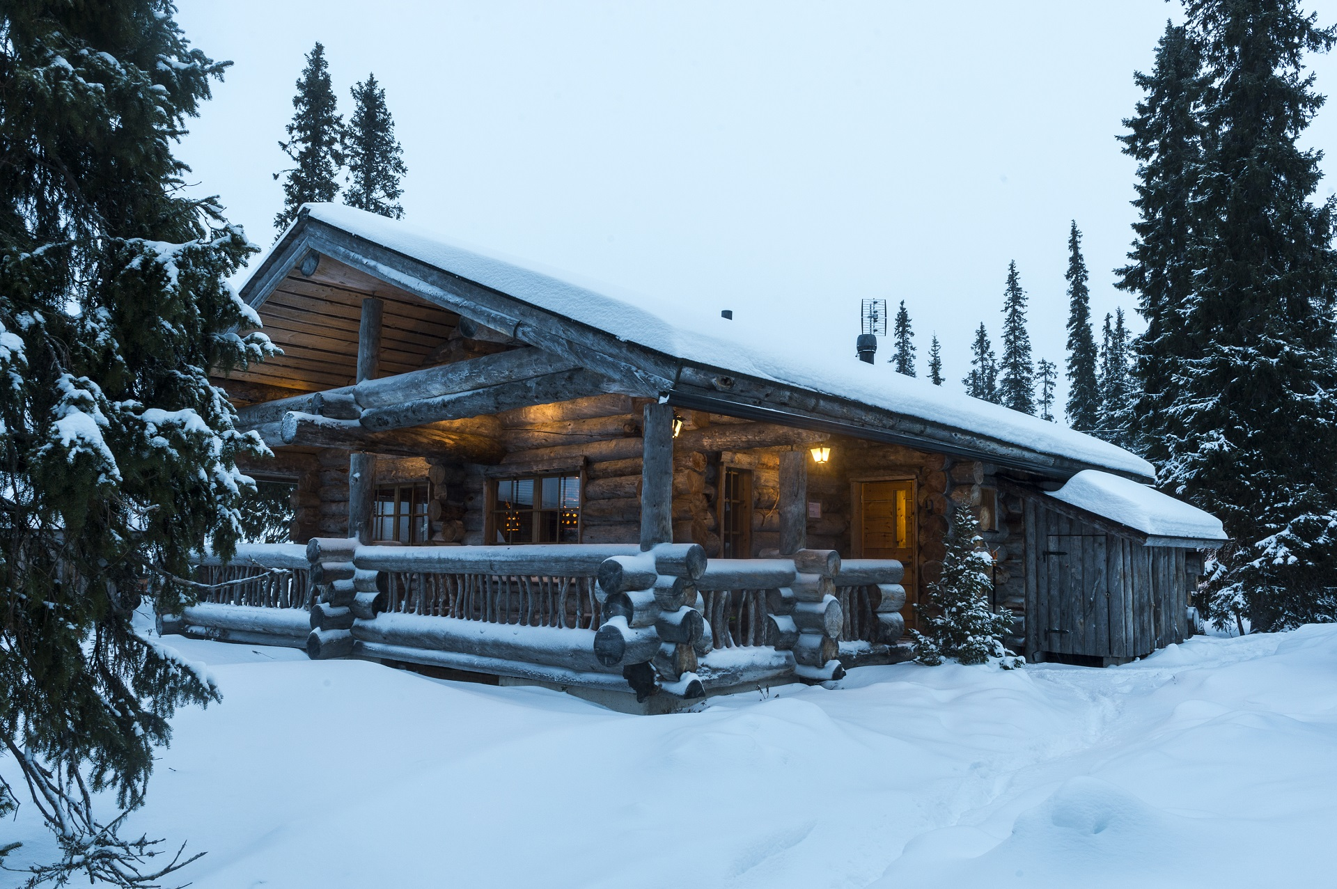 ruka chalets blockhaus d sandozconcept winterreisen. Black Bedroom Furniture Sets. Home Design Ideas